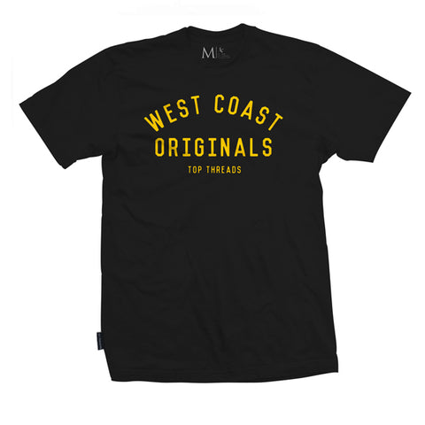 West Coast Tee- Black