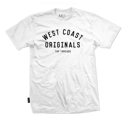 West Coast Tee - White