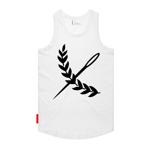 Oversized Imperial Tank- White