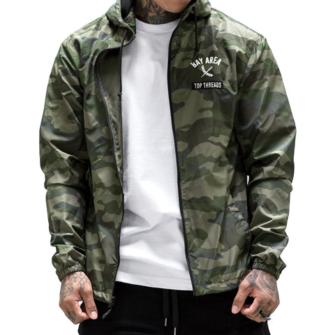 Bay Area Windbreaker - Camo