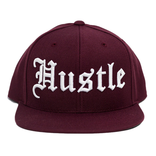 HUSTLE - BURGUNDY