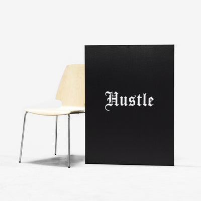 "Hustle Canvas 30"" x 40"""