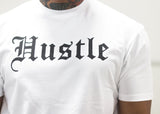 Hustle Tee White / Black