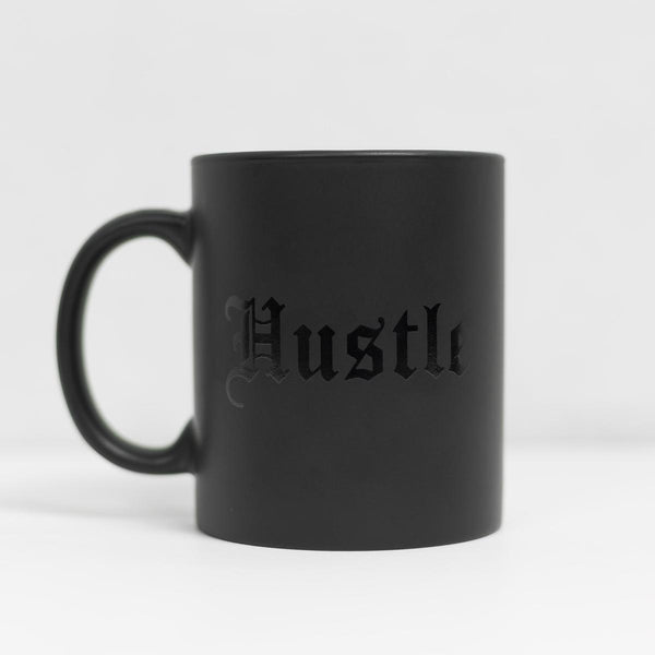 12 oz Hustle Mug - Matte-black