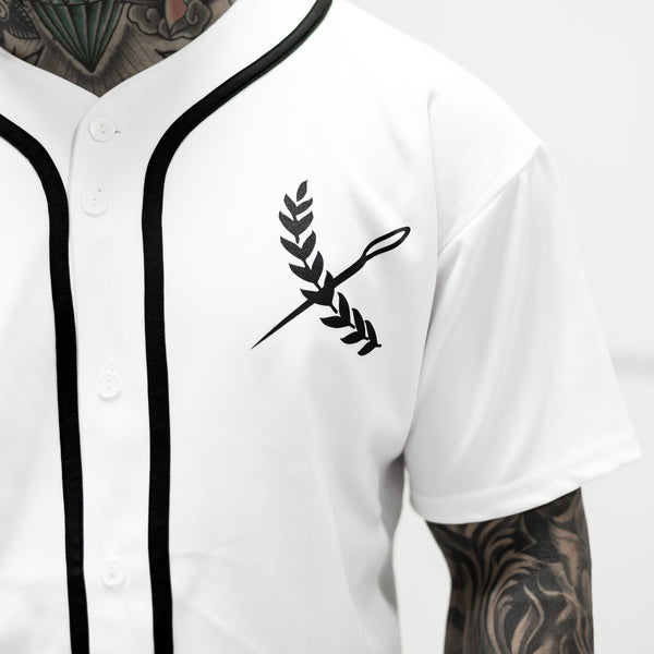Imperial Baseball Jersey- White