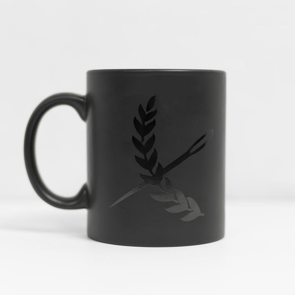12 oz Imperial Mug - Matte-black