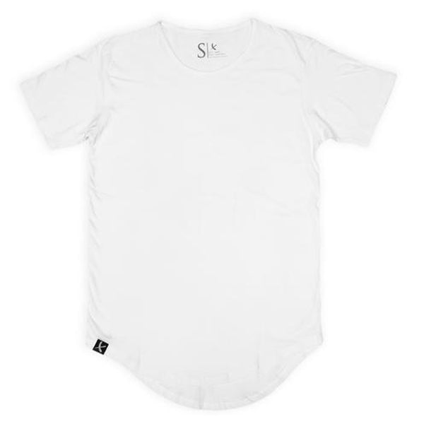 Imperial Scallop Tee White