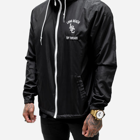 LBC Windbreaker- Black/White