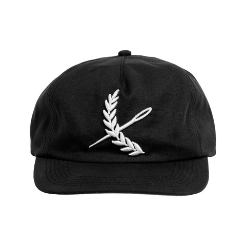 Imperial Strap-back Hat- Black
