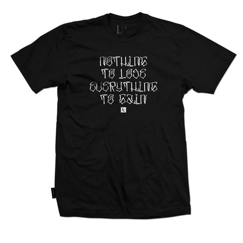 Nothing to Lose Tee - Black