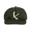 Imperial Strap-back Hat- Militant Green