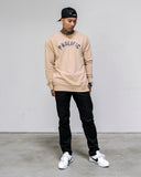 Prolific Crew Neck - Tan