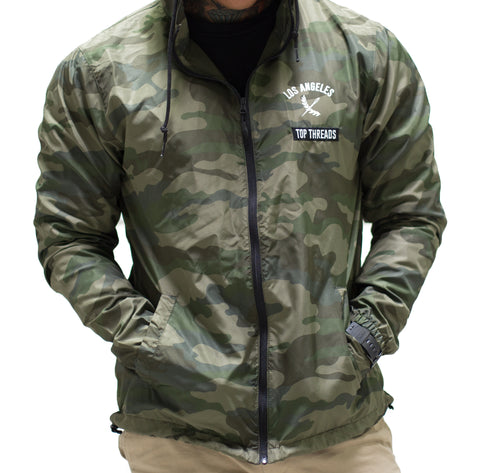 Los Angeles Windbreaker - Camo