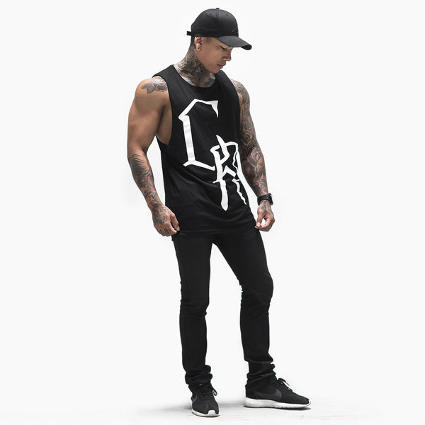 California Tank- Black