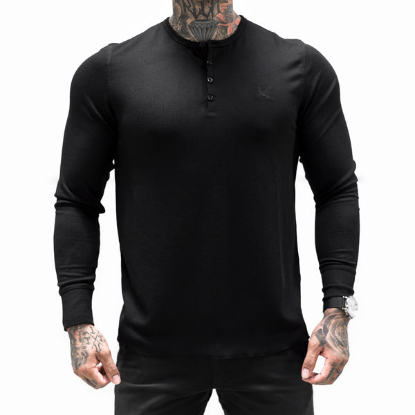 Imperial Button Thermal - Black