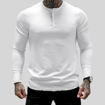 Imperial Button Thermal - White