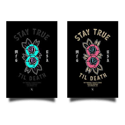 Stay True Sticker Bundle