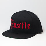 HUSTLE -BLACK/RED