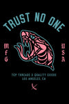 Trust No One Sticker - Black