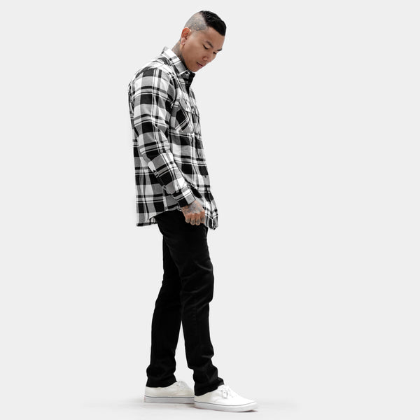 Imperial Flannel - Black / White