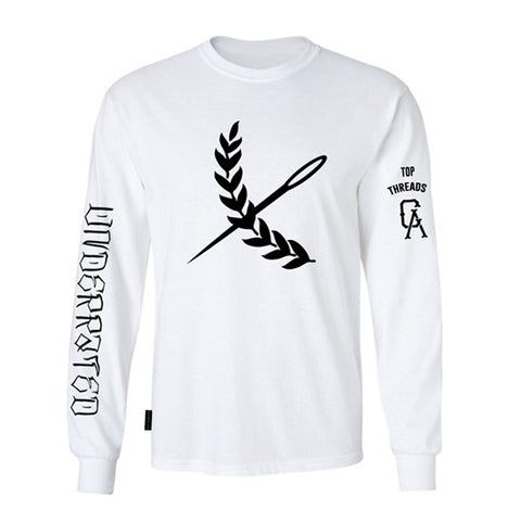 Underrated Long Sleeve- White