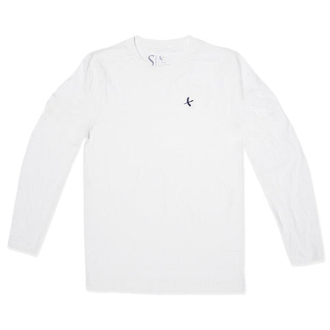 Imperial Long Sleeve- White/ Black