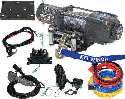 KFI-WIDE 4500LB WINCH KIT pn# U4500W - planetrzr.com