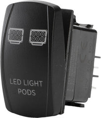 FLIP-LED LIGHT PODS LIGHTING SWITCH pn# SC1-AMB-L15 - planetrzr.com