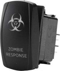 FLIP-ZOMBIE RESPONSE LIGHTING SWITCH pn# SC1-AMB-A23 - planetrzr.com