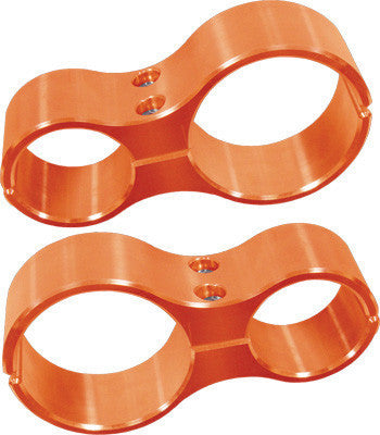MODQUAD-SHOCK CLAMPS (ORANGE) pn# RZR-SC-1K-OR RZR 1000 XP - planetrzr.com