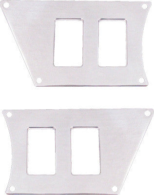 MODQUAD-DASH 4 SWITCH PLATE (POLISHED) pn# RZR-SP4-1K - planetrzr.com