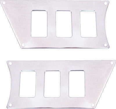 MODQUAD-DASH 6 SWITCH PLATE (POLISHED) pn# RZR-SP6-1K - planetrzr.com