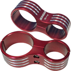 MODQUAD-SHOCK CLAMPS (RED) pn# RZR-SC-1K-RD RZR 1000 XP - planetrzr.com