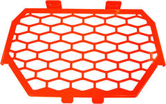 MODQUAD-2-PANEL FRONT GRILL (RED) pn# RZR-FG-1K-RD - planetrzr.com