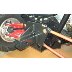 "High Lifter-2"" Receiver Hitch With Tow Point for Polaris RZR XP 900 - planetrzr.com"