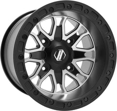 HiPer Raptor Black/Machined, 14X10 4X1 10 5+5