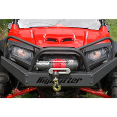 High Lifter-EMP Front Winch Bumper with Headlight Protection Bars for Polaris RZR 570/800, RZR S, RZR 4 - planetrzr.com