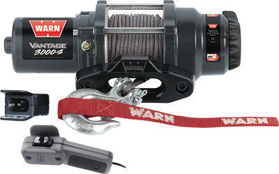 WARN-VANTAGE 3000-S WINCH W/SYNTHETIC ROPE pn# 89031 - planetrzr.com