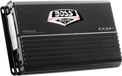 BOSS AUDIO-1000W 4 CHANNEL AMPLIFIER pn# BR1000 - planetrzr.com