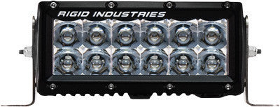 "RIGID - E SERIES LIGHT BAR SPOT AMBER 6"" pn# 106222 - planetrzr.com"