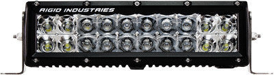 "RIGID - E SERIES LIGHT BAR COMBO SPOT/FLOOD 10"" pn# 110312 - planetrzr.com"