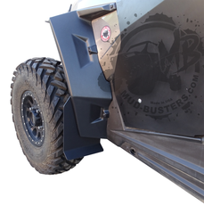 Short Mud Flaps for Polaris XXL Fender Flares