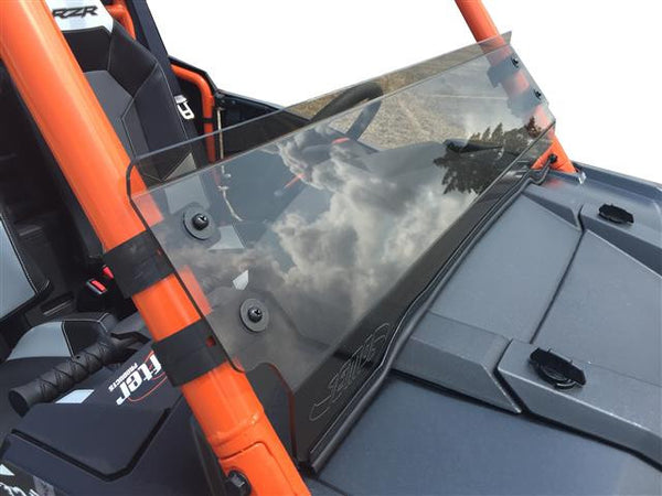 EXTREME METAL PRODUCTS-EMP Tinted Hard Coated -RZR 1000 XP and 2015-16 RZR 900 XP Half Windshield/ Wind Deflector - planetrzr.com