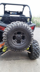 EXTREME METAL PRODUCTS-EMP RZR 900 XP Rear Spare Tire Rack - planetrzr.com