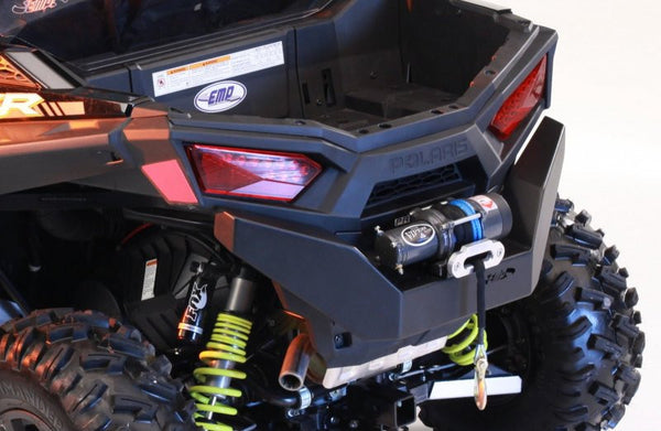 EXTREME METAL PRODUCTS-EMP 2015-16 RZR 900 Rear Bumper with Winch Mount - planetrzr.com