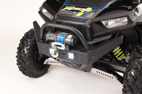 EXTREME METAL PRODUCTS-EMP RZR  Extreme Front  Bumper/Brush Guard with Winch Mount (RZR 1000 XP and 2016 RZR 900 XP) With LED Lights - planetrzr.com