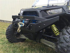 EXTREME METAL PRODUCTS-EMP RZR NITRO Front  Bumper/Brush Guard with Winch Mount (RZR 1000 XP and 2015 RZR 900 XP) - planetrzr.com