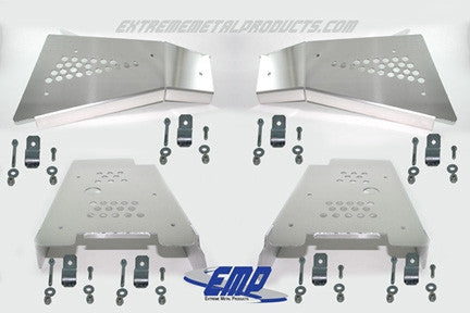 EXTREME METAL PRODUCTS-EMP RZR CV Boot/A-Arm Guards - Aluminum - planetrzr.com