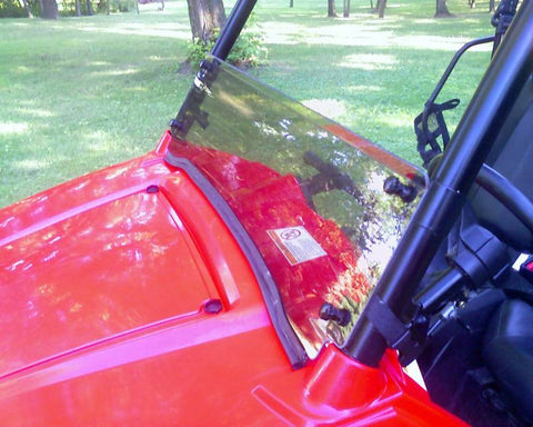 EXTREME METAL PRODUCTS-EMP RZR Tinted Half Windshield/Wind Deflector - planetrzr.com
