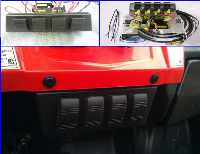 F76122260?v=1476931933 extreme metal products emp rzr fuse block with four illuminated where is the fuse box on a 2013 rzr 900 xp at eliteediting.co